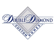 Double Diamond Custom Homes Logo